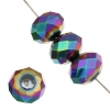 Ori Crystal (Chinese Donut) 4X6mm Metallic Vitrail